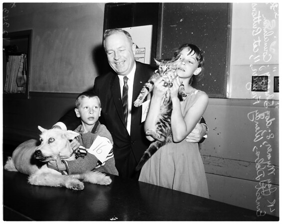Debs and pet show, 1958
