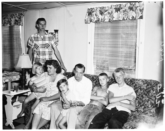 Missing sisters take 20 month brother in fear of adoption, 1958