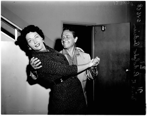 Dance team divorce, 1958