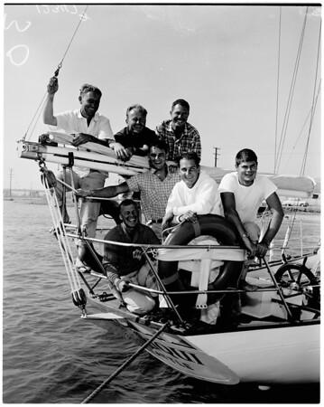 """Cruise of yacht """"Chiriqui"""", 1958"""