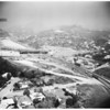 Aerial views of freeway project at Sepulveda and Sunset Boulevards, [s.d.]