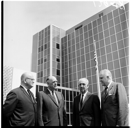 University of Southern California Medical Building dedication, 1961