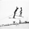 Water skiing, 1957