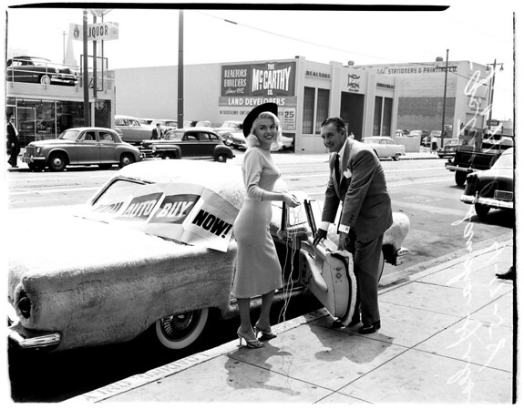 """You Auto Buy Now"" week campaign, 1958"