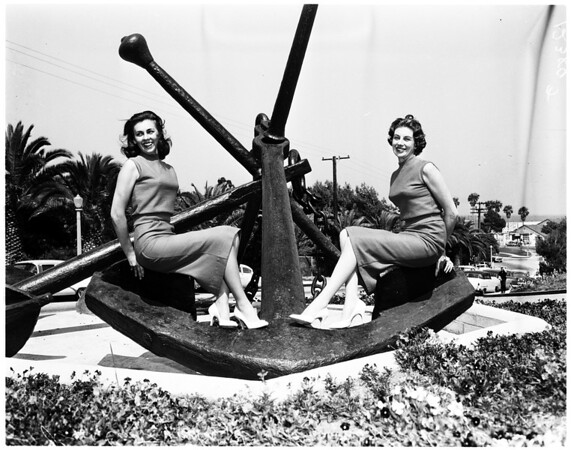 Harbor Day festivities at San Pedro, 1958.