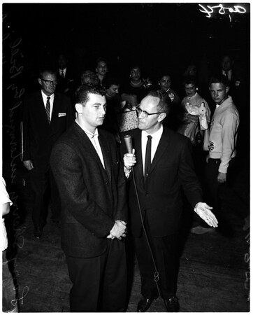 Dodgers arrival, International Airport, 1959