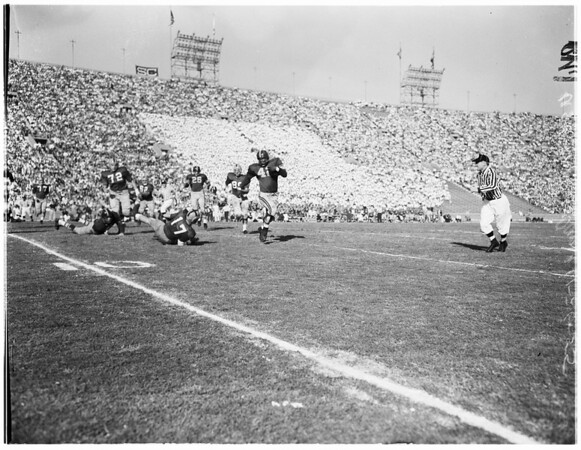 University of Southern California vs Notre Dame, 1955