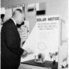 University of Southern California science fair (Los Angeles County Museum), 1958
