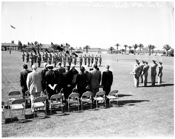 Nike defense awards (Fort MacArthur), 1958