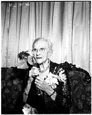 One hundreth birthday, 1958