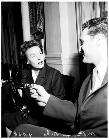 Duke divorce, 1958