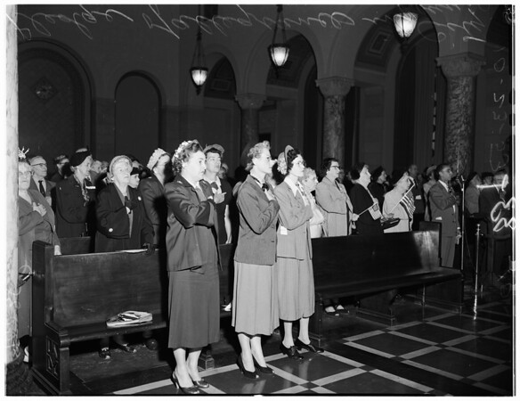 United States Day in City Council, 1953