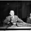 Rackets hearing, 1958