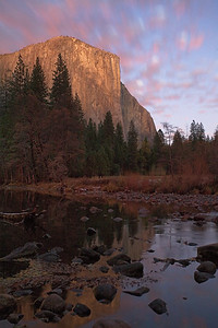 El Capitan with Red, White and Blue
