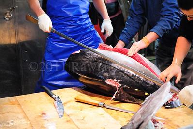Lost in Translation, Tsukiji Fish Market, Japan - ©2009 | Rawlandry