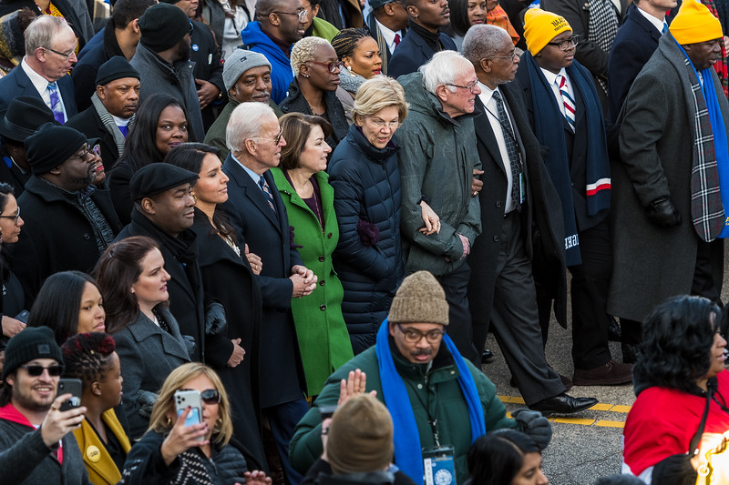 Thousands gathered at steps of the South Carolina State House for the annual King Day at the Dome rally on Jan. 20, 2020.<br /> John A. Carlos II / Special to The Free Times