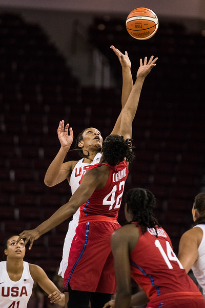 Team USA's Red Vs. White game held on September 5, 2018 at Colonial Life Arena in Columbia, SC.<br /> <br /> John A. Carlos II / Special to The Free Times