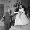 Warner R. Wright introducing his daughter, Brenda, at Cotillion