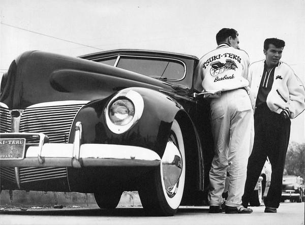 Members of Tsuki-Teru Auto Club, ca.1950s