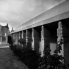 Exterior view of the Hollyhock House, Los Angeles, 1921