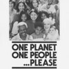 Poster, One Planet, One People, . . . Please, 1977