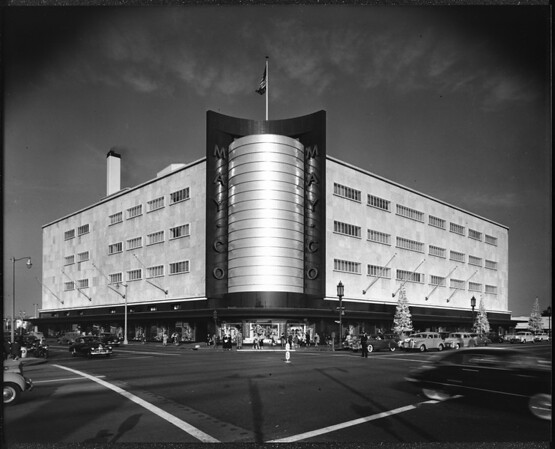 May Department Stores Building, Los Angeles, ca.1960