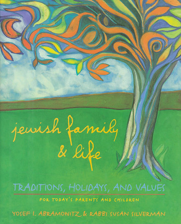 """Cover of """"Jewish family & life"""" by Abramowitz & Silverman, 1997"""