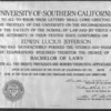 Bachelor of Laws diploma for Edwin Lucius Jefferson
