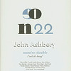 "Cover of L'oeil De Boeuf, no. 22 ""John Ashbery"", 2001"