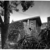Exterior view of the Samuel Freeman House, Los Angeles, 1924