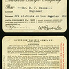 Southern Pacific Railroad Company employee pass, 1920