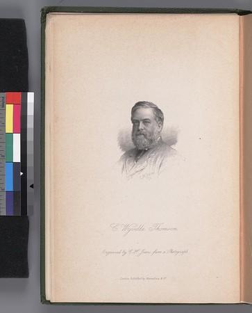 Portrait of Sir C. Wyville Thomson, 1830-1882