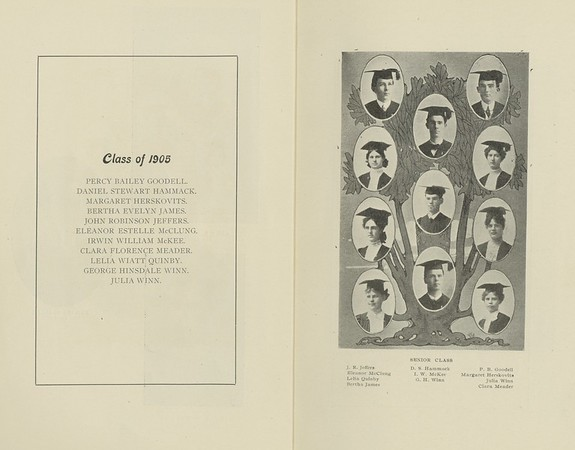 The Occidental: commencement annual, 1905