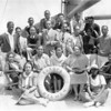 Mission to Moscow, aboard the Europa, 1932. A group of African-American film makers on board a ship to the U.S.S.R.