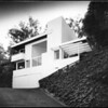 Exterior view of the Droste House, Los Angeles, 1940