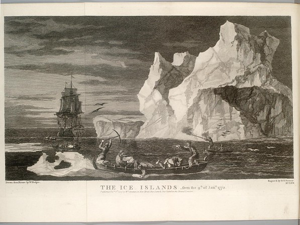 The Ice Islands, seen the 9th of January 1773