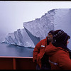 Two scientists aboard ship in the Ross Sea, near Antarctica, 1999