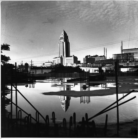 Los Angeles Civic Center, Los Angeles, ca.1960