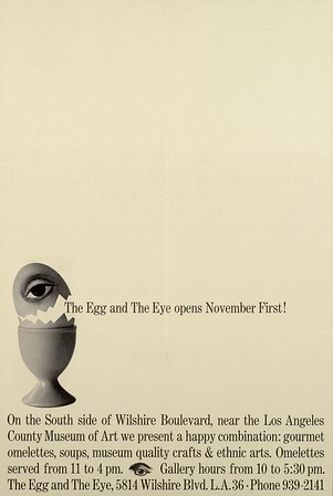 The Egg and The Eye poster, 1965