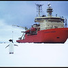 "Icebreaker ""Nathanial B. Palmer"", in the Antarctic, ca.1998"