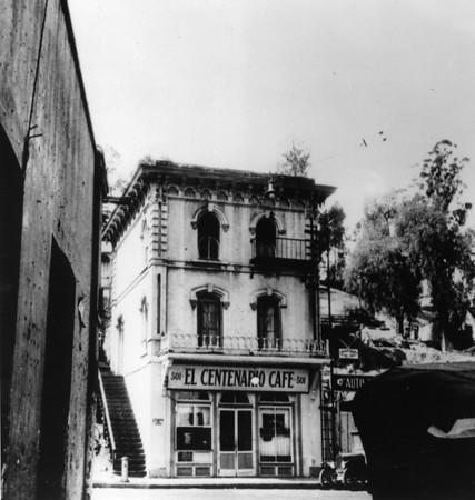 El Centenario Cafe, Los Angeles, early 1900s