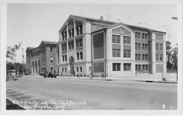 University of Southern California Law School, 1938
