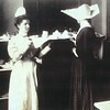 Sister and nurse in the Los Angeles Infirmary, ca.1900