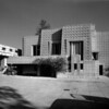Exterior view of the Ennis-Brown House, Los Angeles, 1923-1924