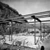 View of the construction site of the Julius Shulman House and Studio, Los Angeles, 1949-1950