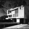 Exterior view of the Mackey Apartments, Los Angeles, 1939