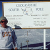 Close-up of Cornelius Sullivan at the geographic South Pole, 1996