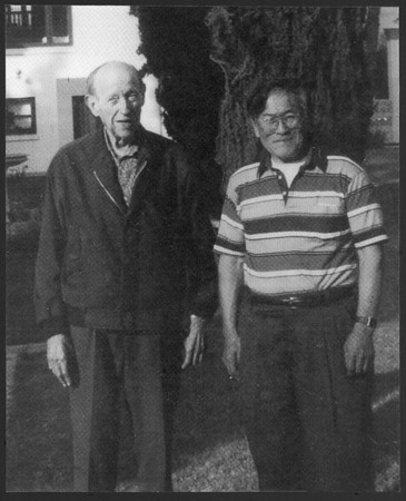 Dorr Legg and his partner Johnny Nojima, late 1980s - early 1990s