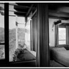 Interior and exterior view of the Harris Residence, [s.d.]