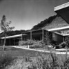 Exterior view of the Julius Shulman House and Studio, Los Angeles, 1949-1950